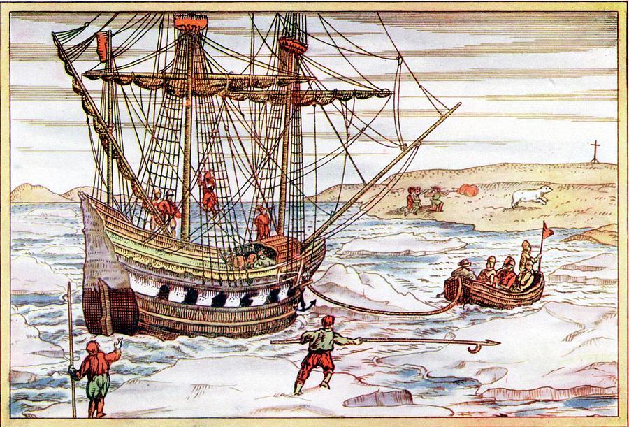 Корабль экспедиции Виллема Баренца