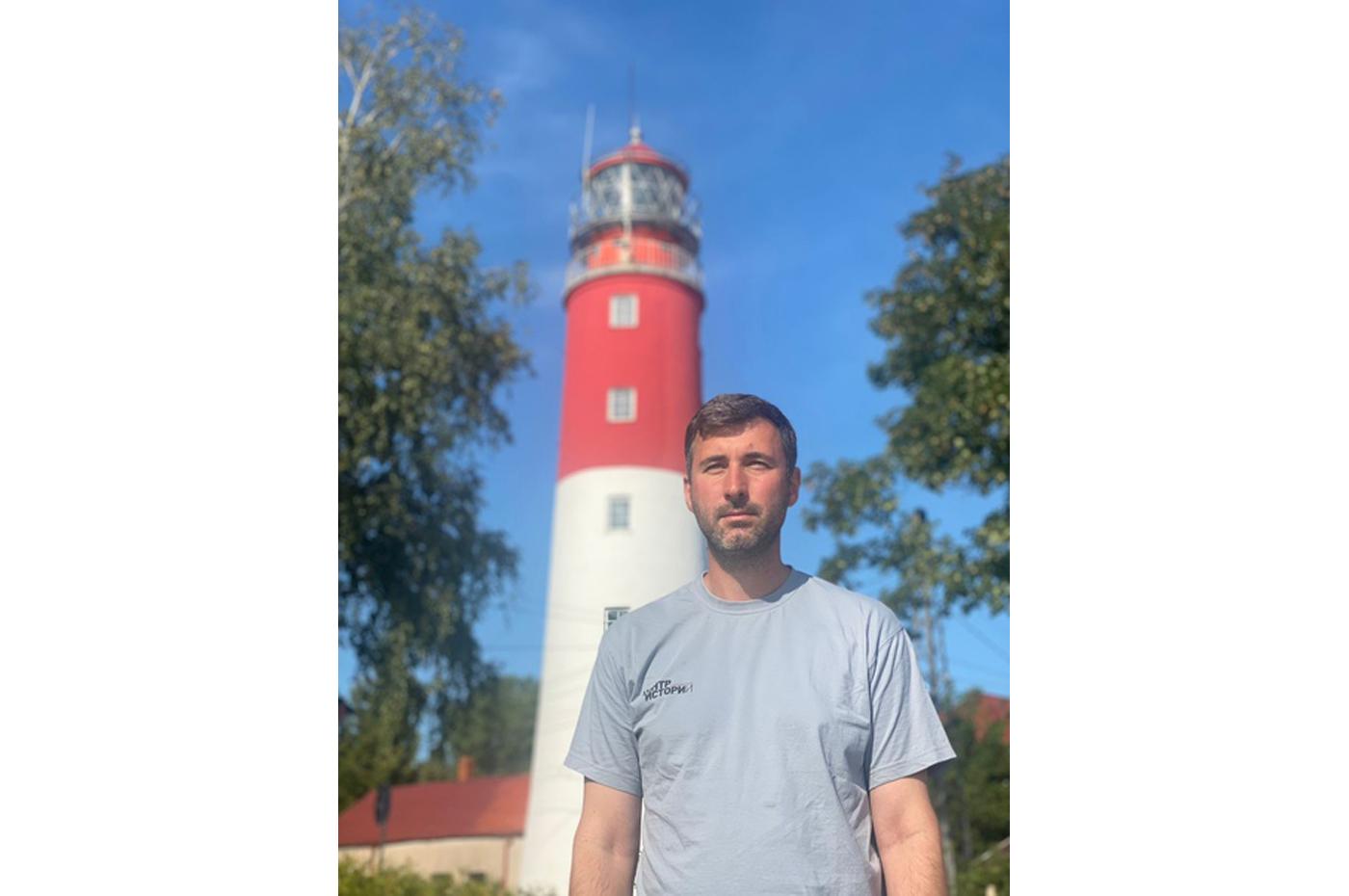 маяк в Балтийске